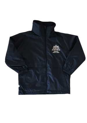 Helensville Primary School Waterproof Jacket Navy (Optional)